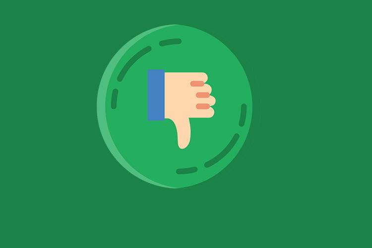 """Facebook prueba botón de reacción negativa """"Downvote"""""""